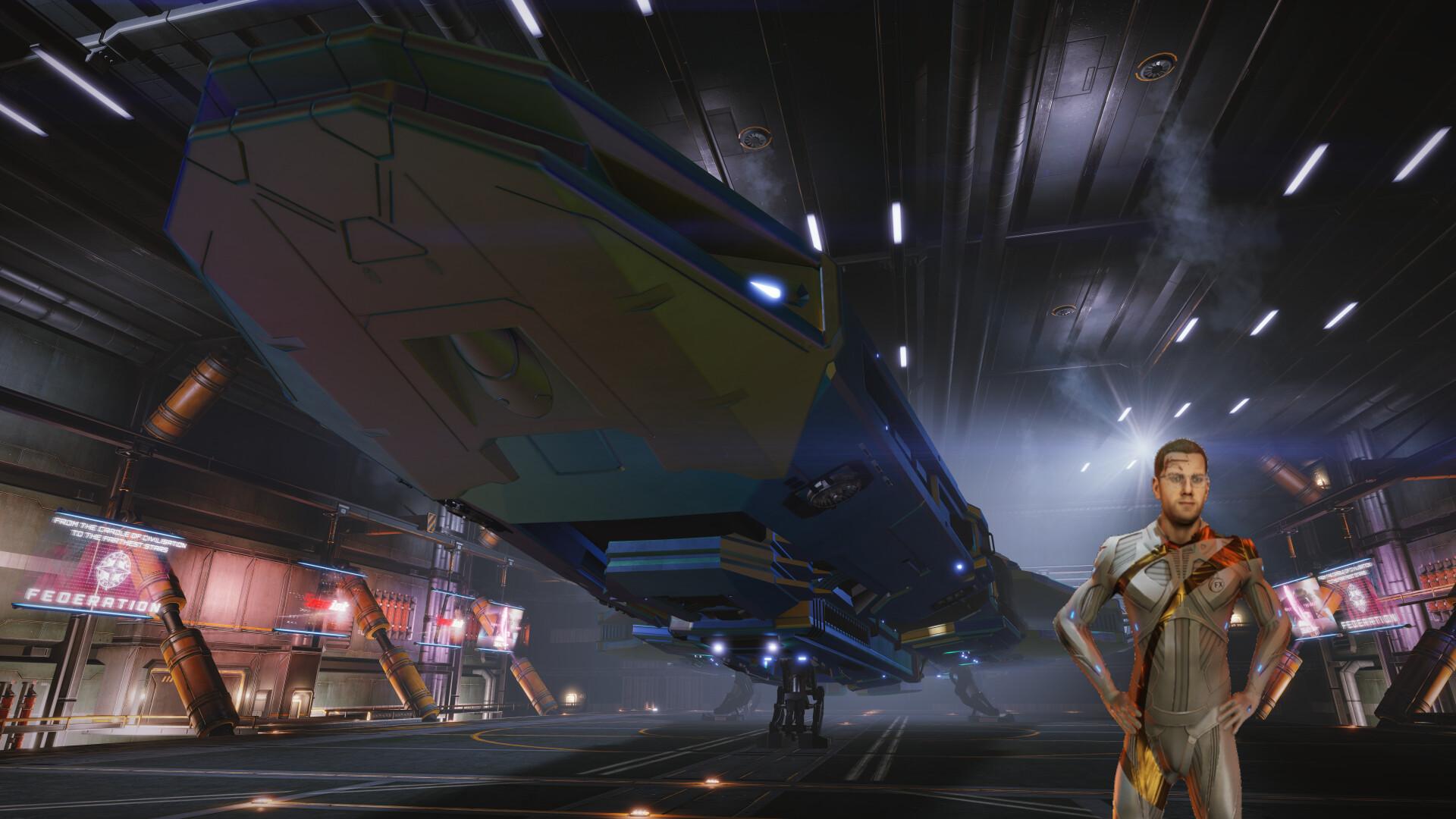 My New ship