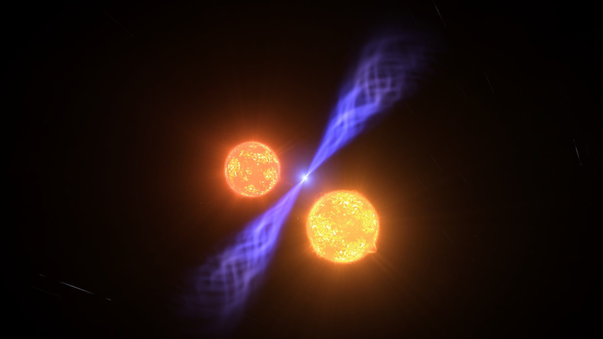 Image result for trinary star system